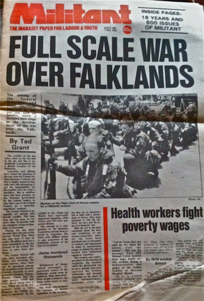 How Marxists viewed the Falklands