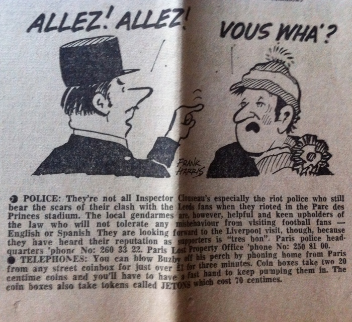 Liverpool Echo - encounter between French and scouser
