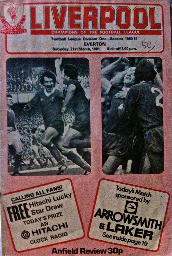 Liverpool FC program