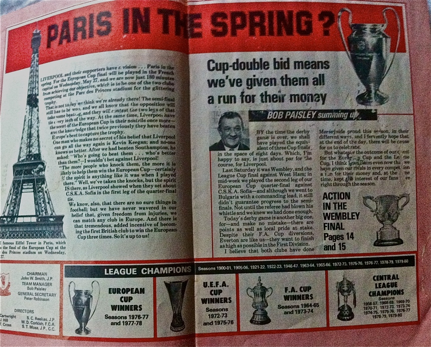 Bob Paisley on the club's excellent prospects
