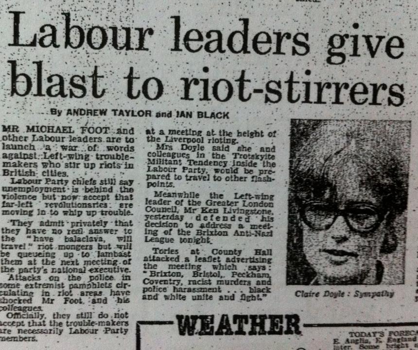 Militant accused of involvement in riots