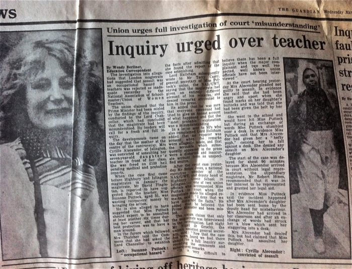 Teaching in the 1980s