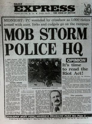 Manchester riot