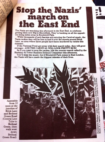 National Front leaflet